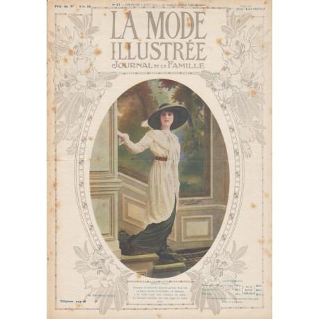 Complete magazine La Mode Illustrée 1912 N°31