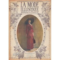 Complete magazine La Mode Illustrée 1912 N°35