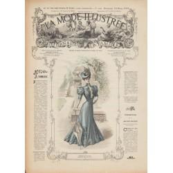 Complete magazine La Mode Illustrée 1906 N°11