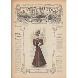Revue complète de La Mode Illustrée 1906 N°13