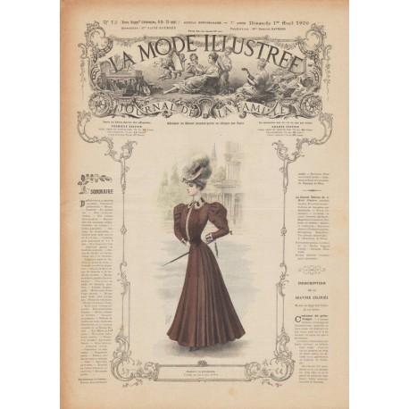Complete magazine La Mode Illustrée 1906 N°13