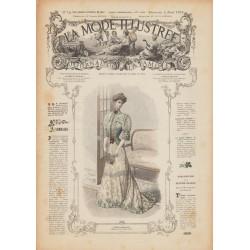 Complete magazine La Mode Illustrée 1906 N°14