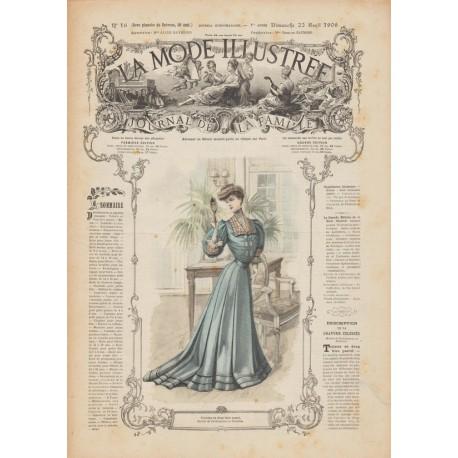 Complete magazine La Mode Illustrée 1906 N°16