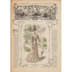 Complete magazine La Mode Illustrée 1906 N°18