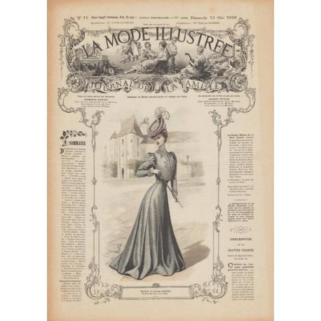 Complete magazine La Mode Illustrée 1906 N°19