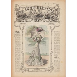 Complete magazine La Mode Illustrée 1906 N°22