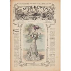 Revue complète de La Mode Illustrée 1906 N°22