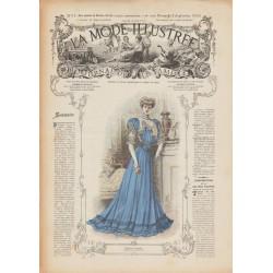 Complete magazine La Mode Illustrée 1906 N°35