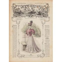 Revue complète de La Mode Illustrée 1906 N°36