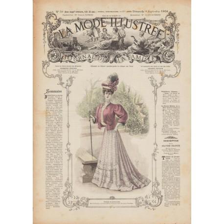 Complete magazine La Mode Illustrée 1906 N°36
