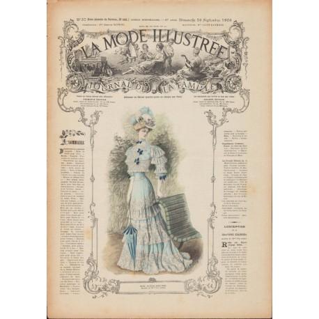 Complete magazine La Mode Illustrée 1906 N°37
