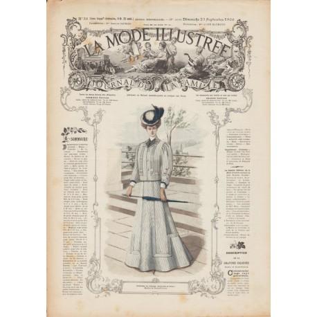 Complete magazine La Mode Illustrée 1906 N°38