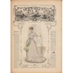Revue complète de La Mode Illustrée 1906 N°39