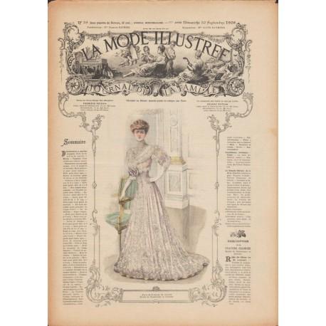 Complete magazine La Mode Illustrée 1906 N°39