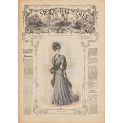 Complete magazine La Mode Illustrée 1906 N°44