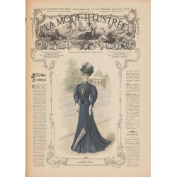 Complete magazine La Mode Illustrée 1906 N°41