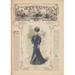 Revue complète de La Mode Illustrée 1906 N°41