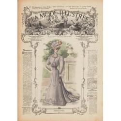 Complete magazine La Mode Illustrée 1906 N°28