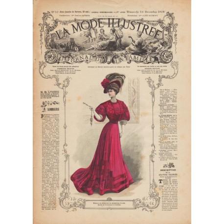 Complete magazine La Mode Illustrée 1906 N°50