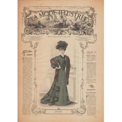 Complete magazine La Mode Illustrée 1906 N°51