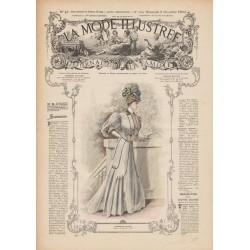 Revue complète de La Mode Illustrée 1906 N°48