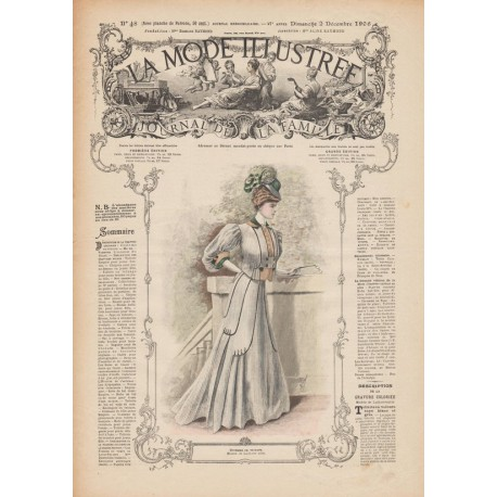 Complete magazine La Mode Illustrée 1906 N°48