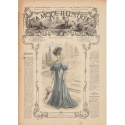Complete magazine La Mode Illustrée 1906 N°26