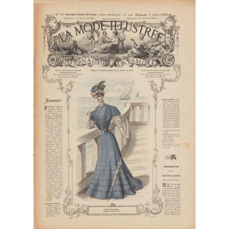 Complete magazine La Mode Illustrée 1906 N°27