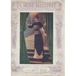 Complete magazine La Mode Illustrée 1912 N°01
