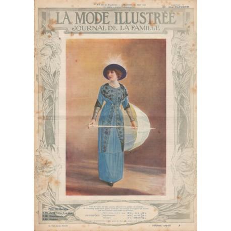 Complete magazine La Mode Illustrée 1912 N°21