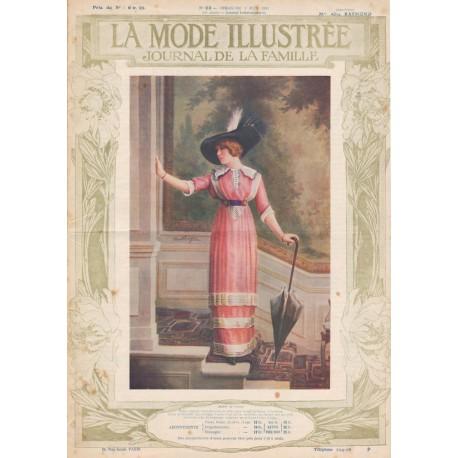 Complete magazine La Mode Illustrée 1912 N°22