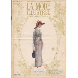 Complete magazine La Mode Illustrée 1912 N°13