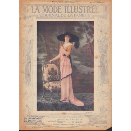Complete magazine La Mode Illustrée 1912 N°48