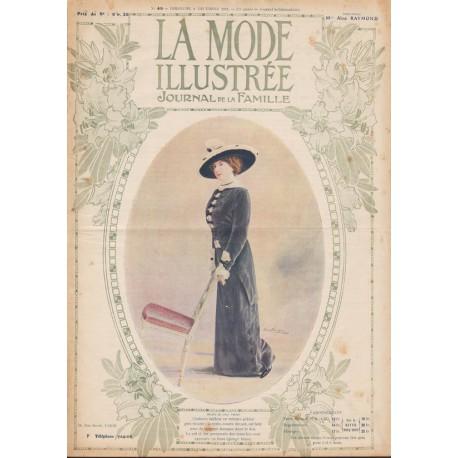Complete magazine La Mode Illustrée 1912 N°49