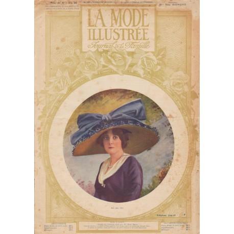 Complete magazine La Mode Illustrée 1912 N°15