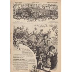 Complete magazine La Mode Illustrée 1890 N°1