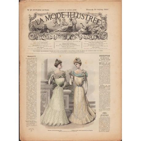 Revue complète de La Mode Illustrée 1900 N°42