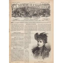 Complete magazine La Mode Illustrée 1890 N°12