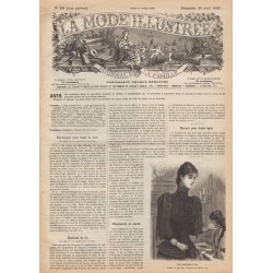 Complete magazine La Mode Illustrée 1890 N°16