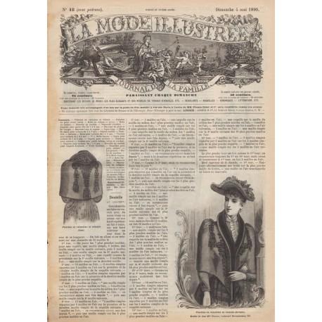 Complete magazine La Mode Illustrée 1890 N°18