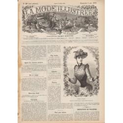 Complete magazine La Mode Illustrée 1890 N°23