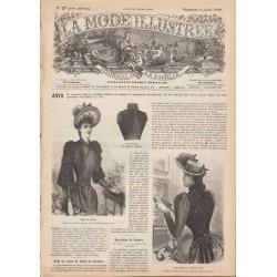 Revue complète de La Mode Illustrée 1890 N°27