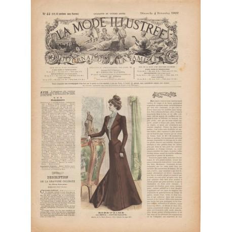 Complete magazine La Mode Illustrée 1900 N°44