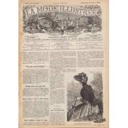 Complete magazine La Mode Illustrée 1890 N°29