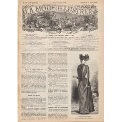 Revue complète de La Mode Illustrée 1890 N°31