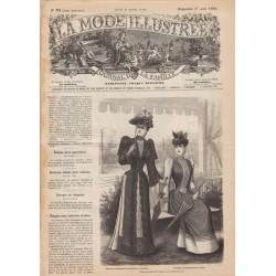 Complete magazine La Mode Illustrée 1890 N°33