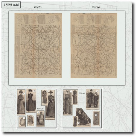 Sewing patterns-dress-coat-french-1890-46