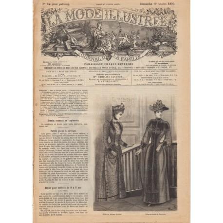 Complete magazine La Mode Illustrée 1890 N°42