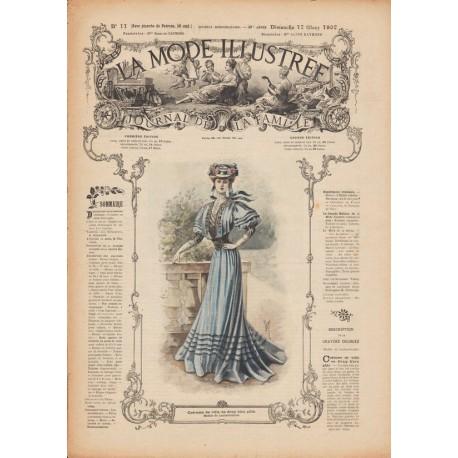 Complete magazine La Mode Illustrée 1907 N°11