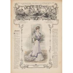 Complete magazine La Mode Illustrée 1907 N°12